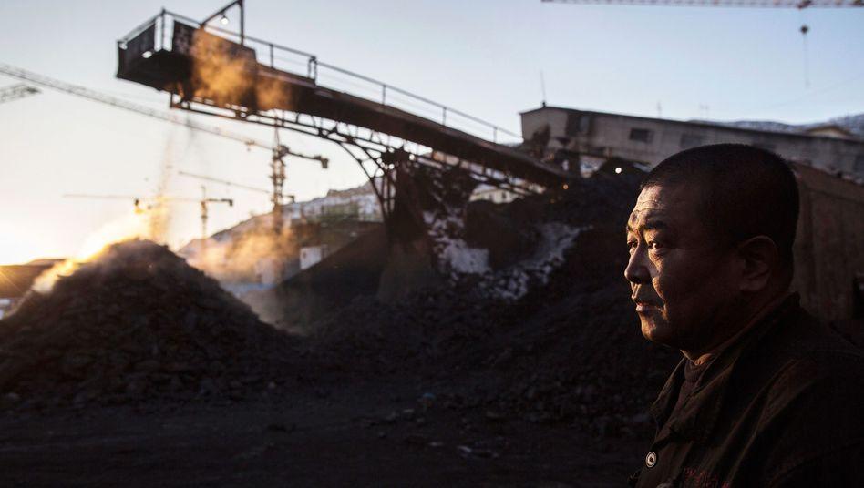 Minenarbeiter in Shanxi: Sechs Millionen Menschen arbeiten in Kohlebergwerken