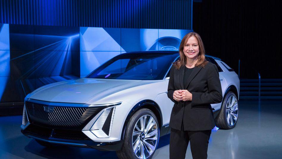 General Motors will elektrisch in die Zukunft, zum Beispiel mit dem Cadillac Lyriq