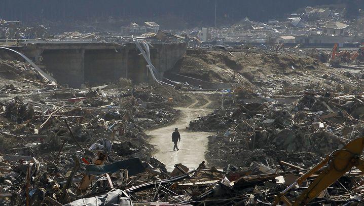 Japans Katastrophengebiete: Rückkehr in die Verwüstung