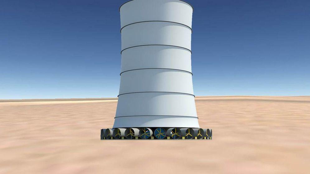 Fallwindkraftwerk: 435 Megawattstunden Energie