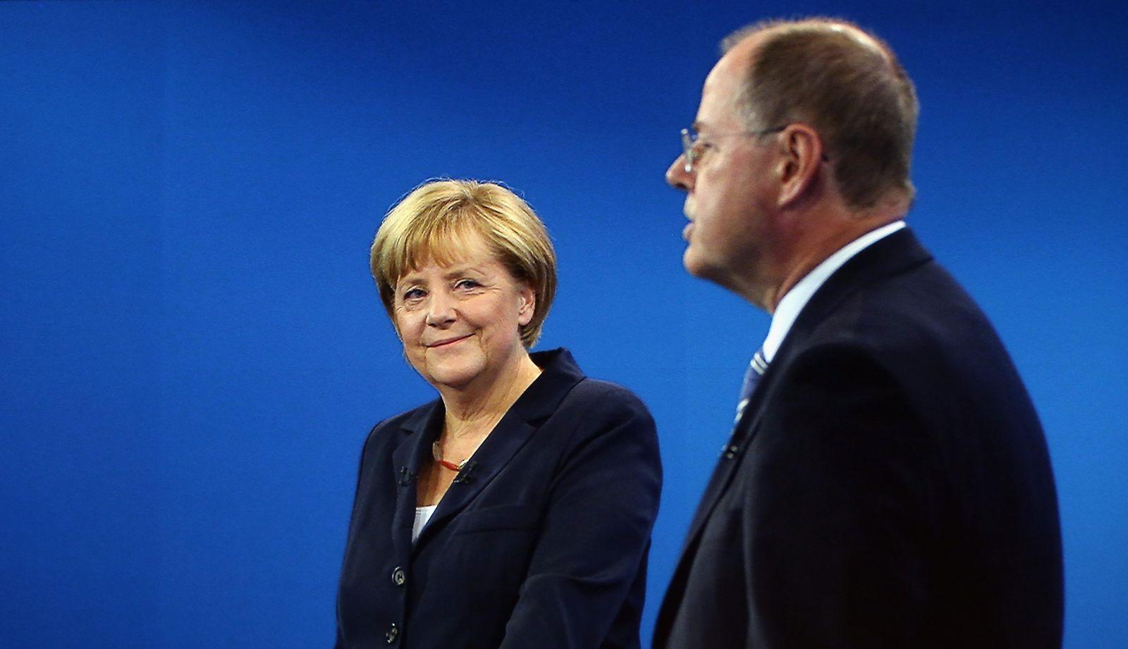 TV-Duell(Merkel/Steinbrück