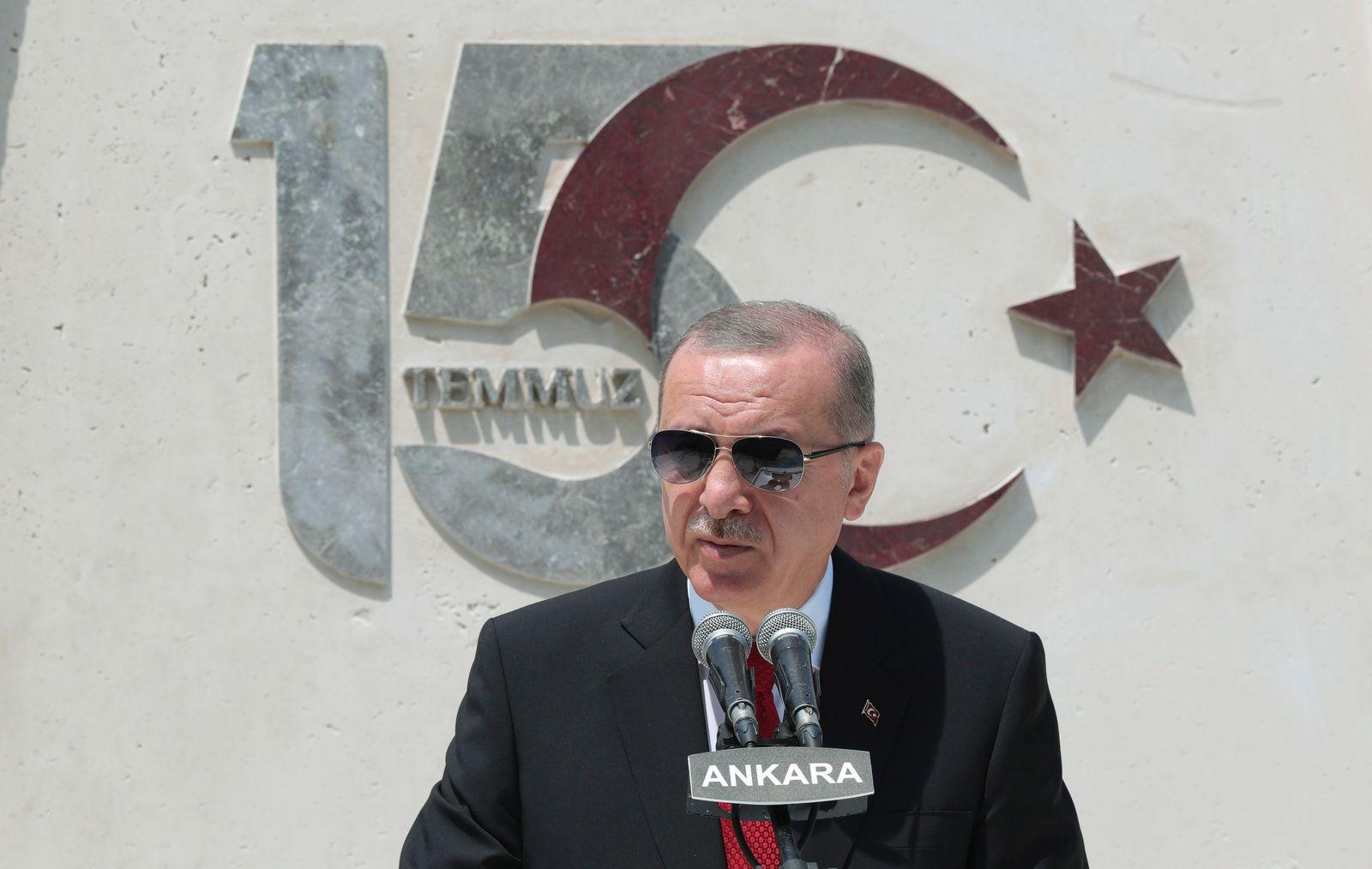 Jahrestag des Putschversuchs in der Türkei