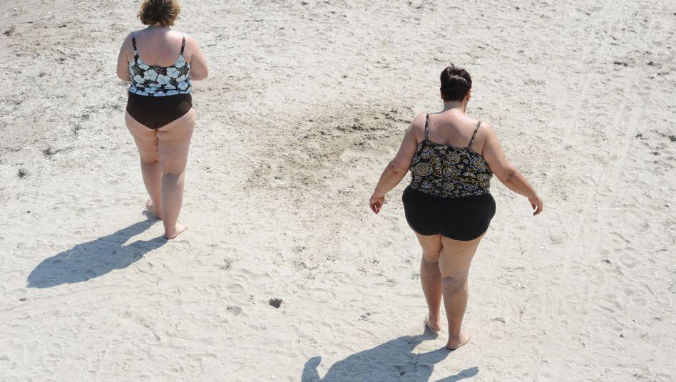 Übergewichtige Frauen