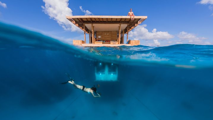 In Wüsten und unter Wasser: 14 spektakuläre Hotels weltweit