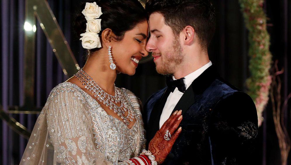 Priyanka Chopra und Nick Jonas: Bollywood-Hochzeit im indischen Palast