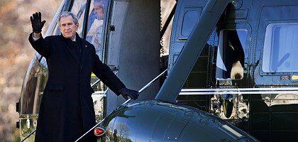 US-Präsident Bush: Ein letztes Wochenende in Camp David