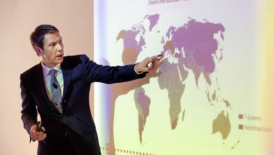 Telekom-Chef Obermann: Online-Offensive gegen bröckelndes Kerngeschäft