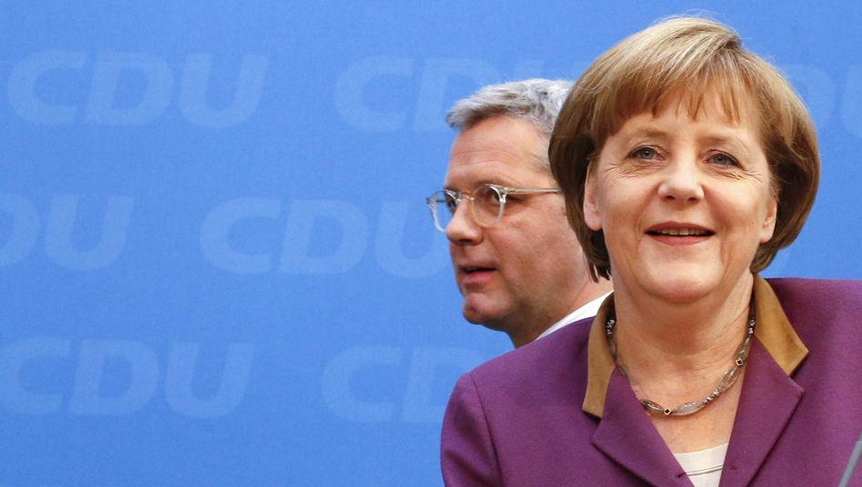 Röttgen, Merkel: Eine Nacht Bedenkzeit