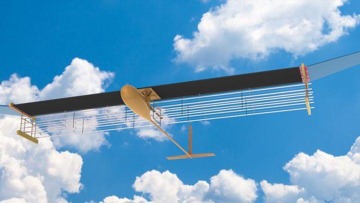 Flugzeug mit Ionenantrieb: Science-Fiction wird Realität