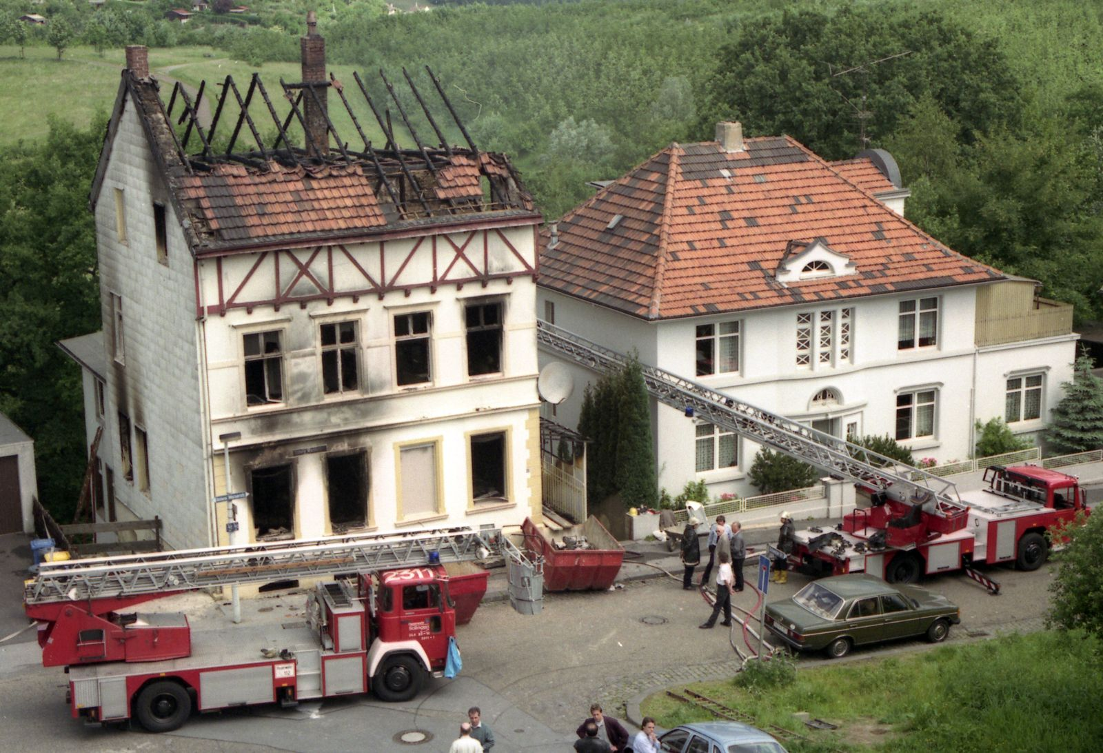 Solingen / Brandanschlag/ Tatort/ 1993