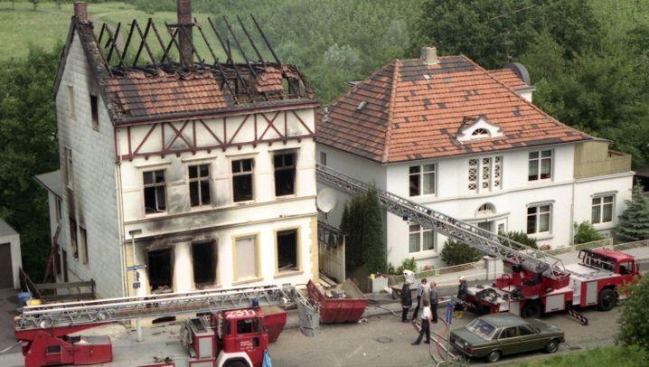 Fünffachmord von Solingen: Tatort Untere Wernerstraße