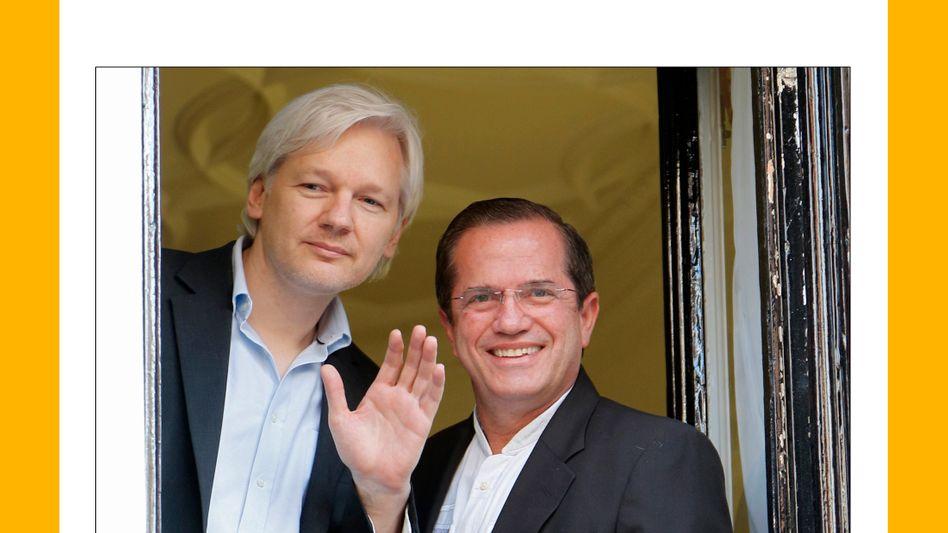 Ecuadors Botschaft in London: Besuch bei Julian Assange.