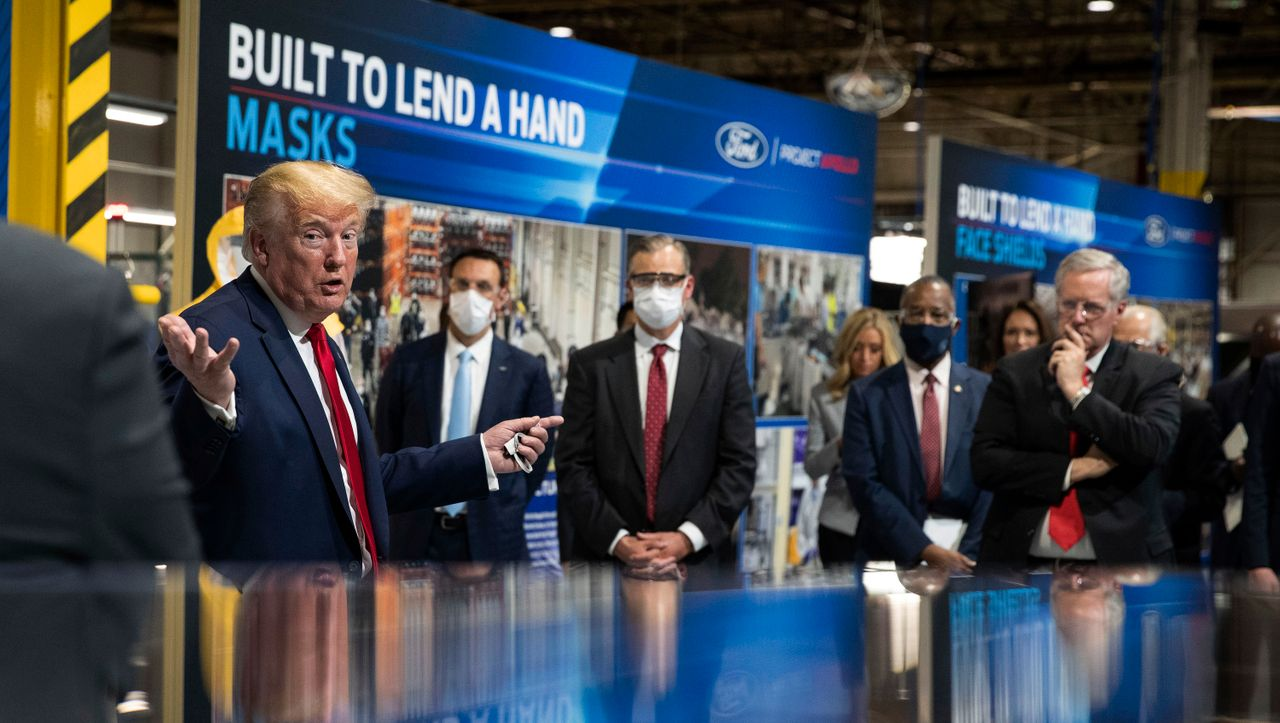 +++ Update zur Coronakrise +++: Donald Trump will nicht mit Maske gesehen werden