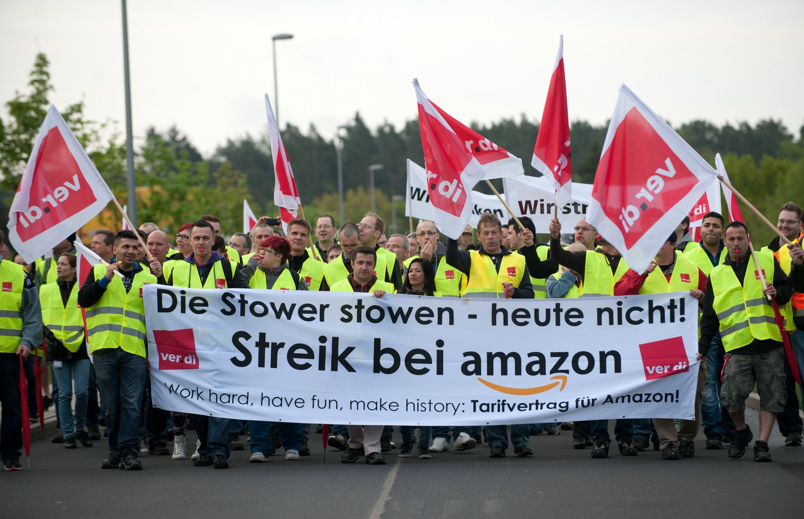 Streik bei Amazon - Bad Hersfeld