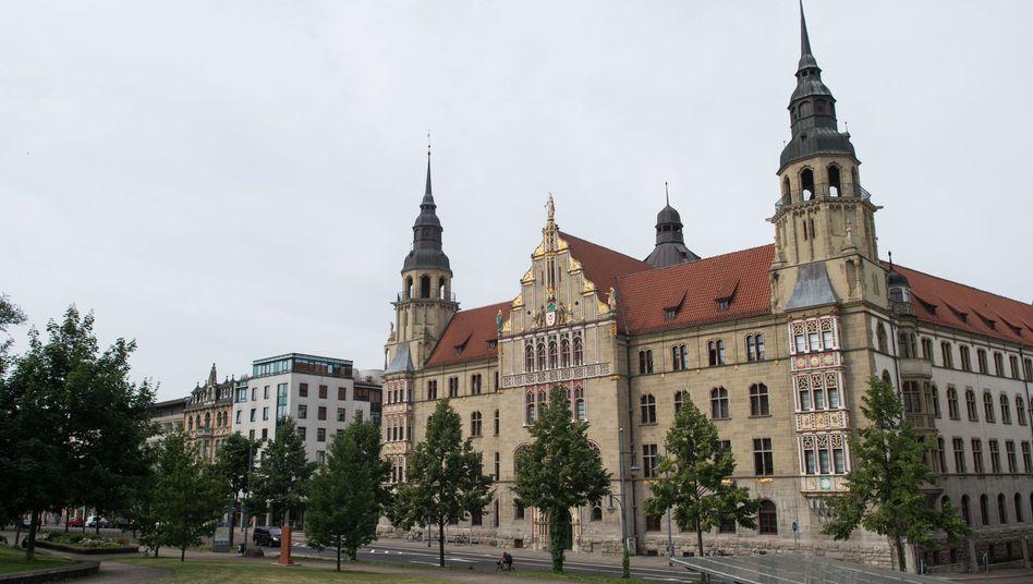 Landgericht in Halle (Archiv)