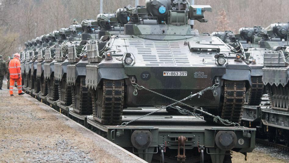 Schützenpanzer des Typs Marder