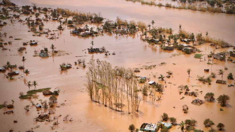 """Überschwemmungen in Mosambik: """"Ozean im Landesinneren"""""""