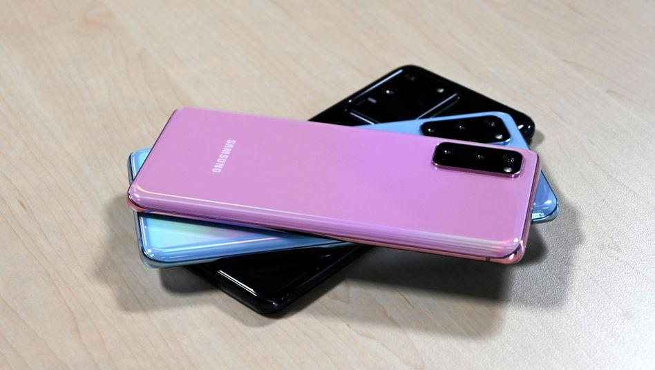 Smartphone mit 5G und 100-fach-Pseudo-Zoom: Samsung stellt das Galaxy S20 vor