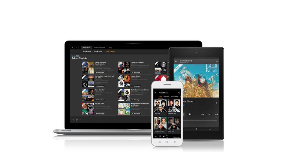 Amazon Prime Music: Musikstreaming für alle gängigen Geräte