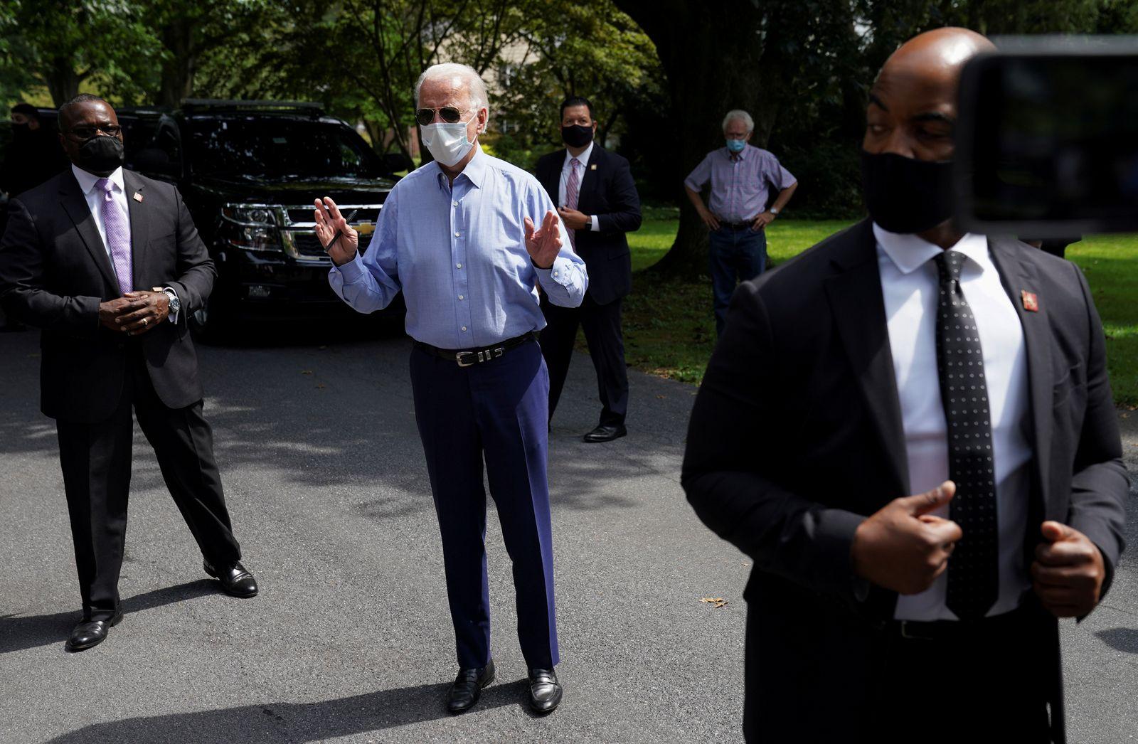 Joe Biden campaigns in Pennsylvania