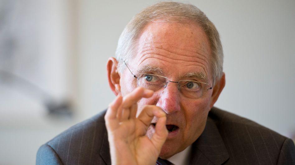 Finanzminister Schäuble: Aus unübersichtlichem Reformangebot ein Paket geschnürt