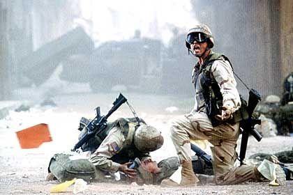 """Kriegsfilm """"Black Hawk Down"""": """"Man zeigt den Leuten so präzise wie möglich, was passiert ist, und erweitert auf diese Weise ihren Horizont"""""""