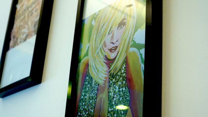 Restaurantdeko: Dolly Buster hat tageweise die Düsseldorfer Kunstakademie besucht