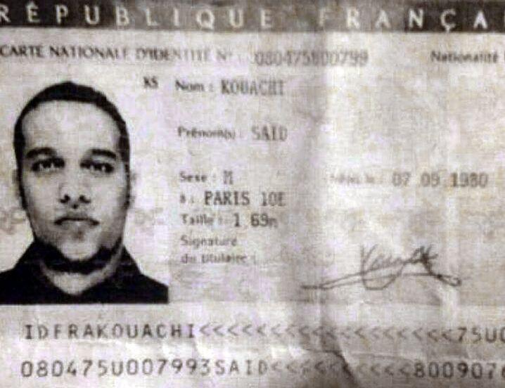 Verdächtiger Saïd Kouachi: Er soll im Jemen von al-Qaida trainiert worden sein