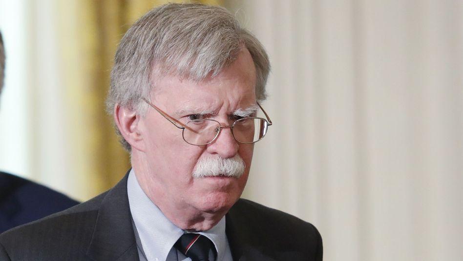 Ukraine-Krise: Ex-Sicherheitsberater Bolton belastet Trump schwer