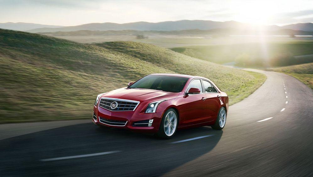 Autogramm Cadillac ATS: Volle Kraft voraus