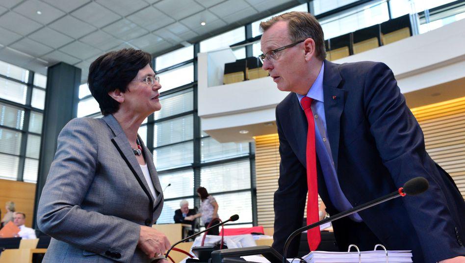 Regierungskrise in Thüringen: Lieberknecht fordert CDU zur Wahl Ramelows auf
