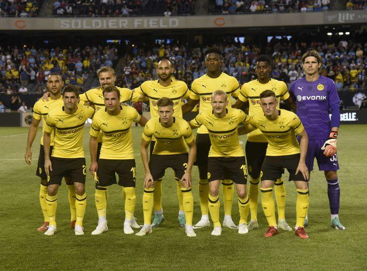 Startelf von Borussia Dortmund