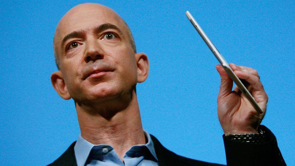"""Amazon-Gründer Bezos: """"Tag für die Geschichtsbücher"""""""