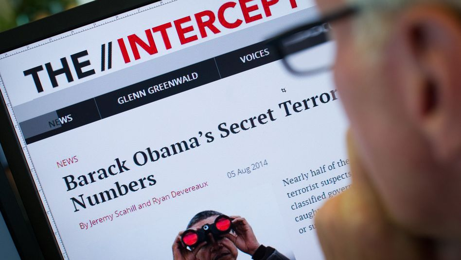 "Webseite von ""The Intercept"": Obamas geheimes Anti-Terror-System"