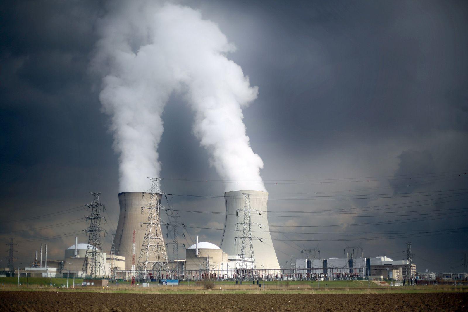 Belgisches Atomkraftwerk Doel