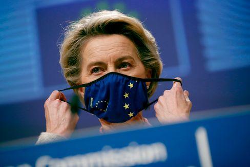 Ursula von der Leyen am Donnerstag in Brüssel