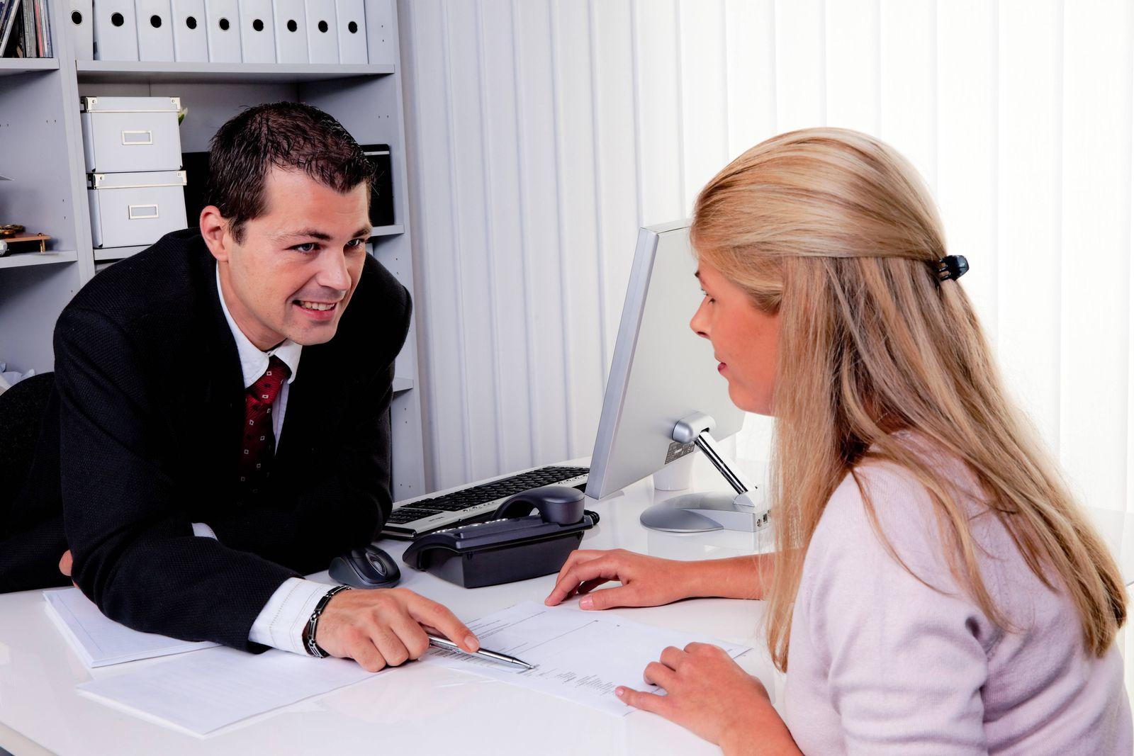 EINMALIGE VERWENDUNG Bankberatung / Bank / Beratung