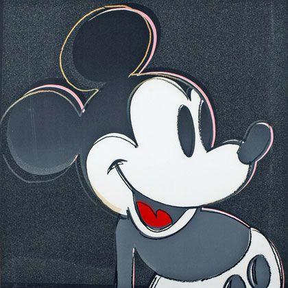 """""""Mickey Mouse"""" von Andy Warhol: Am Morgen aus dem Museum geklaut"""