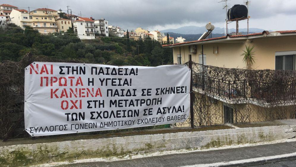 Griechenland: Schulstreik gegen Flüchtlingskinder