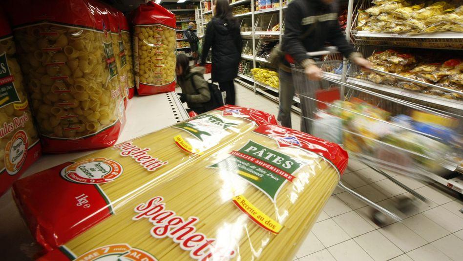 """Pasta im Supermarkt: """"Oft werden Lebensmittel aus Unsicherheit weggeworfen"""""""