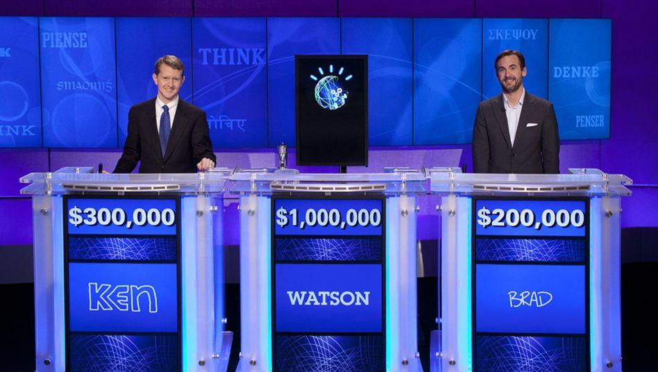 """Watsons Sieg im """"Jeopardy""""-Duell: Der Gewinner schweigt und surrt"""