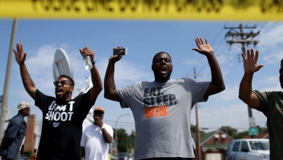 Schwarzer Protest in Ferguson: Angst vor dem alltäglichen Trauma