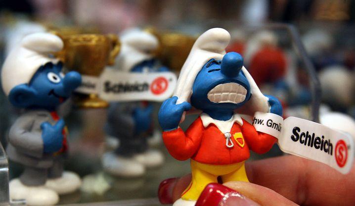 Schlumpf-Figur des Spielwarenherstellers Schleich