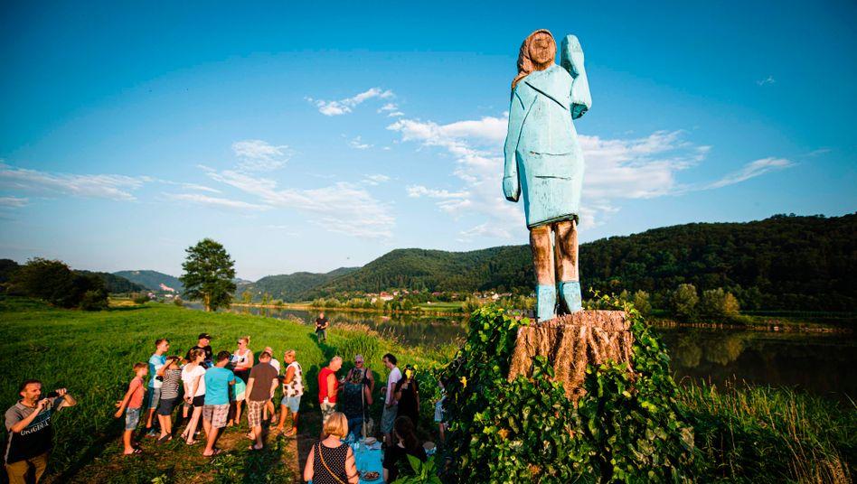 Monument von Melania Trump