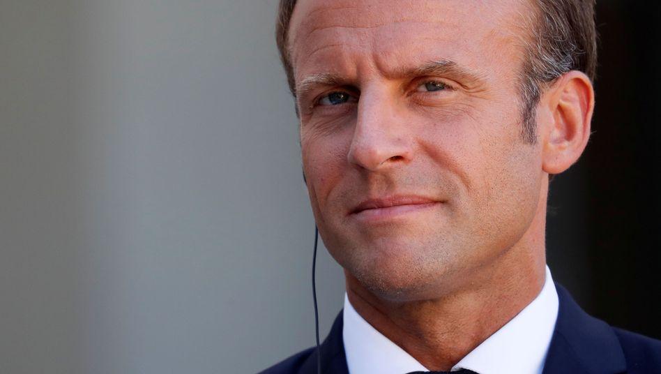 Emmanuel Macron: Selten hat ein G7-Gipfel unter so schwierigen Vorzeichen begonnen. Doch Frankreichs Präsident setzt ehrgeizig auf die Kraft seiner Vermittlungskünste