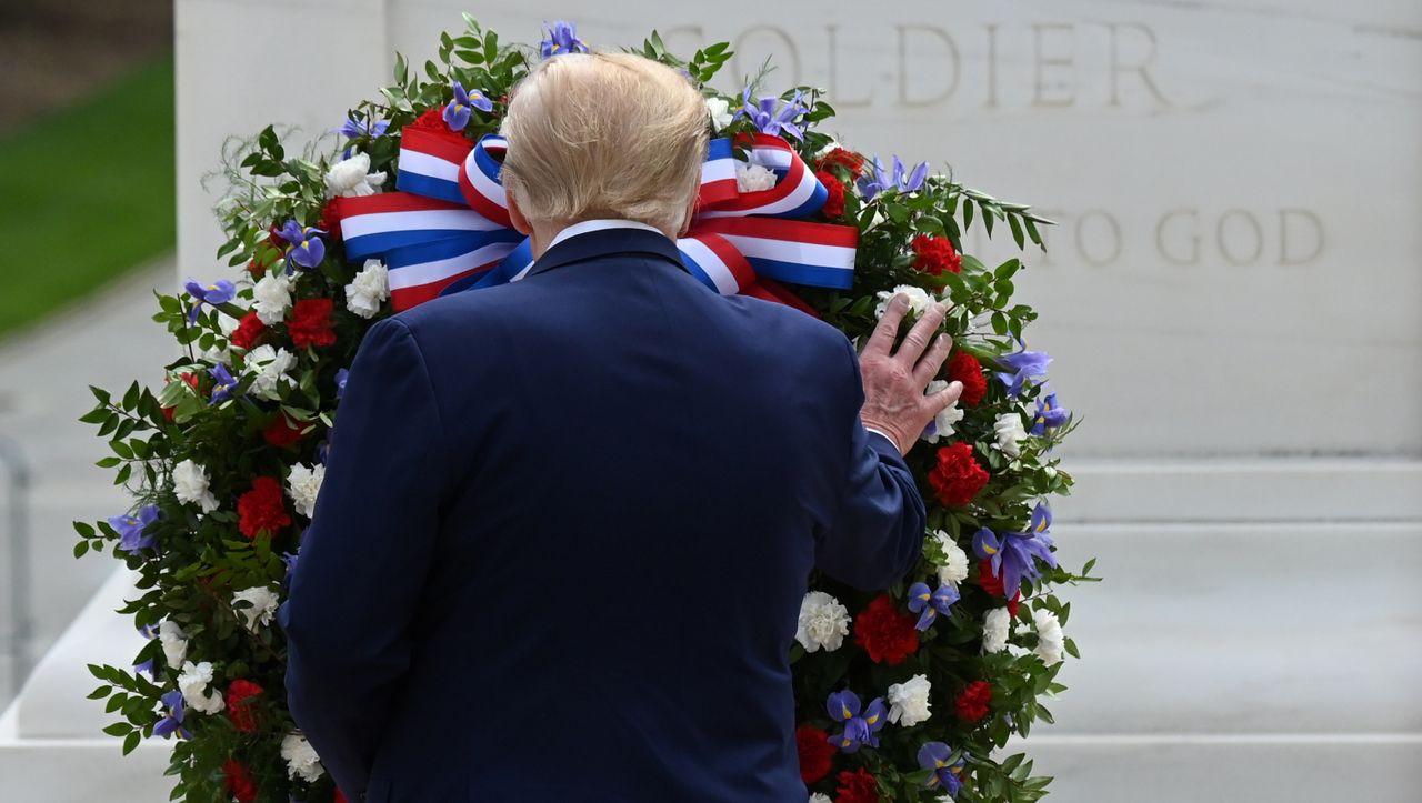 Streit um Trump-Tweets: Der Witwer und der Präsident