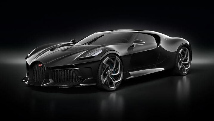 Einzelstück von Bugatti: Die Legende lebt