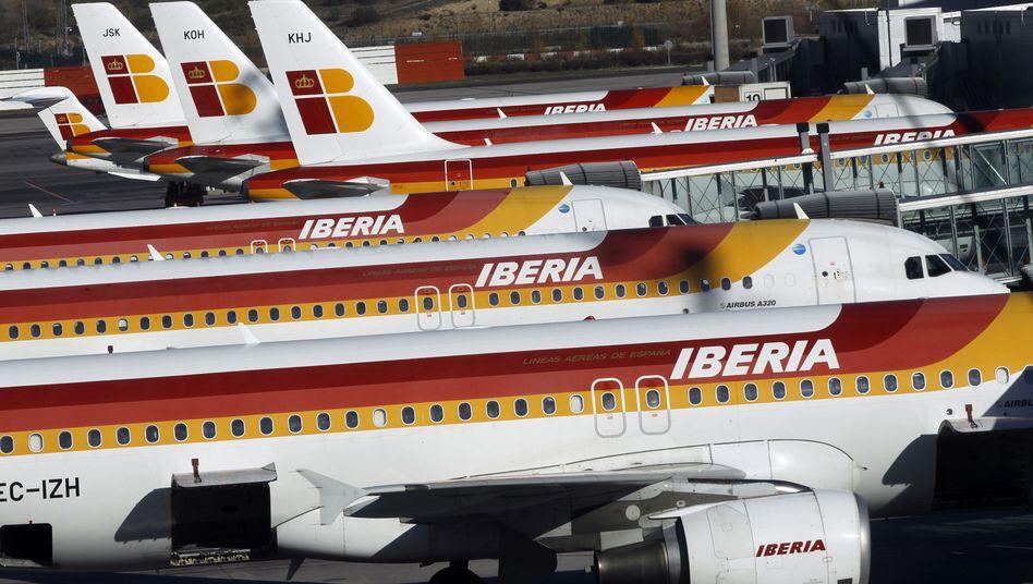 Fluggesellschaft Iberia: Die spanischen Piloten streiken gegen eine geplante Billig-Airline