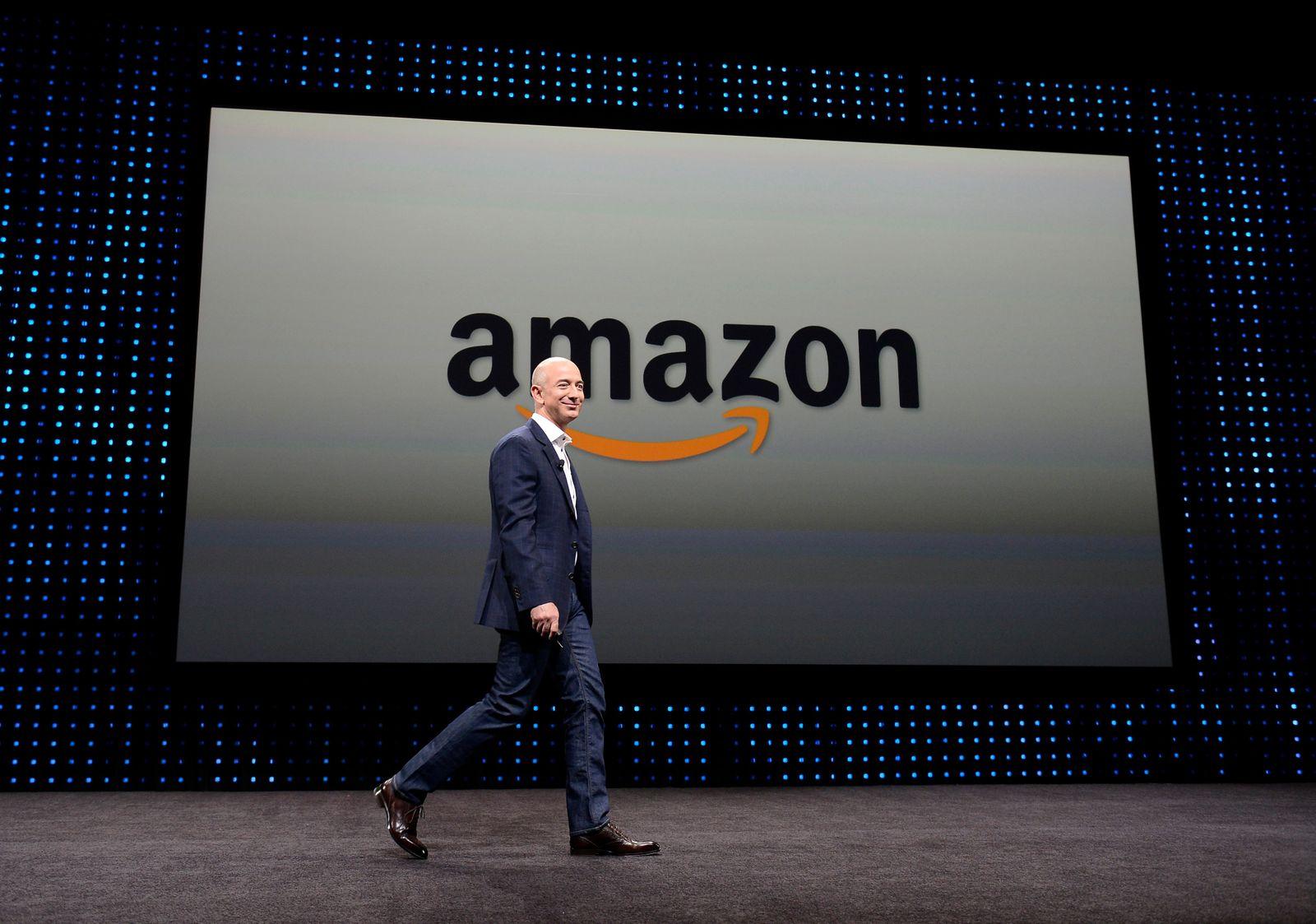 Jeff Bezos will step down as Amazon CEO by Q3, Santa Monica, USA - 14 Jun 2012