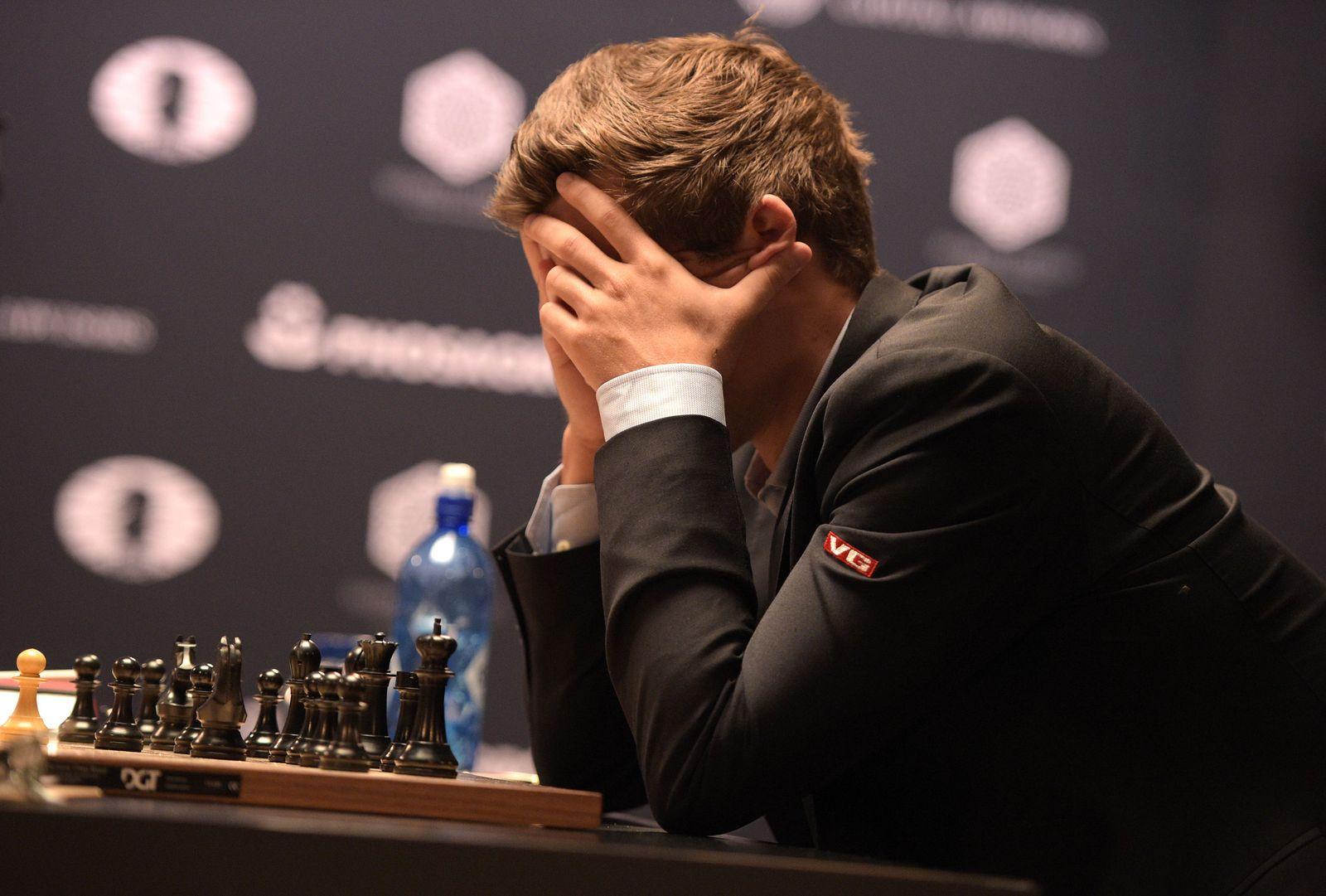 Schach/ Großmeister/ Magnus Carlsen